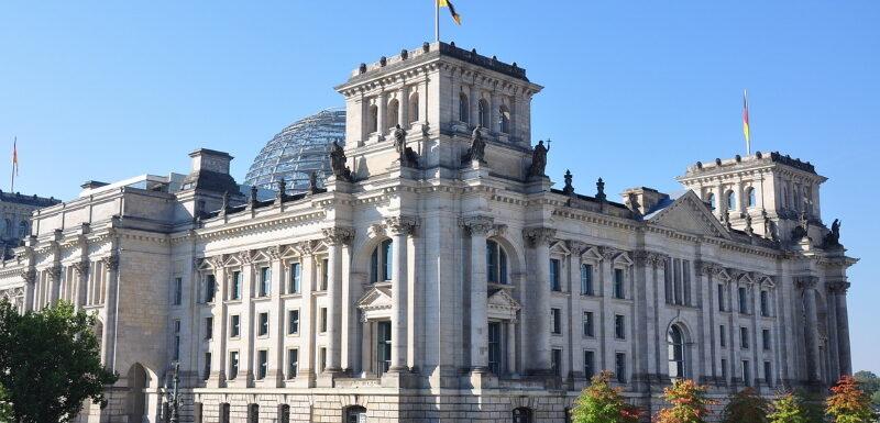 Der Berliner Reichstag von außen