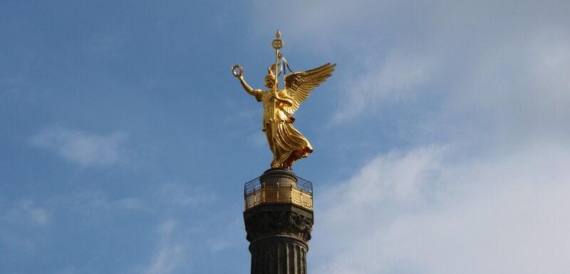 Die Goldene Else auf der Siegessäule in Berlin