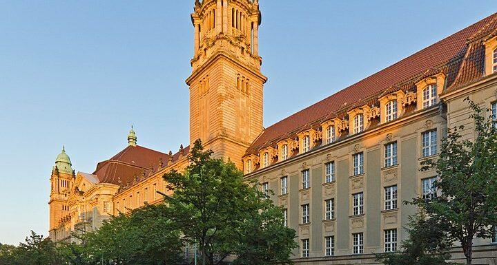 Das Kriminalgericht in Berlin Moabit